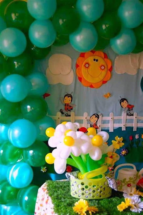 Adorno Con Globos Para Cumpleaños De Niño   Varios Niños