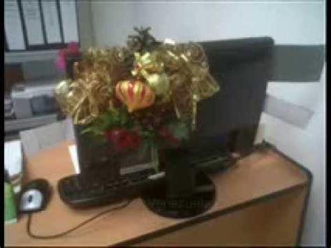 adorno para escritorio navideños  monitor   AisaVenezuela ...