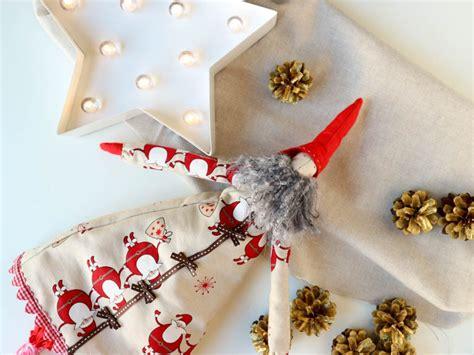 Adornos de navidad caseros: duendes de navidad