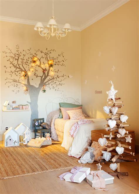 Adornos de Navidad para decorar la habitación infantil