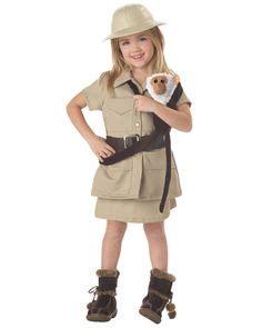 Adult Womens Halloween Costume Safari Zoo Keeper Outfit ...