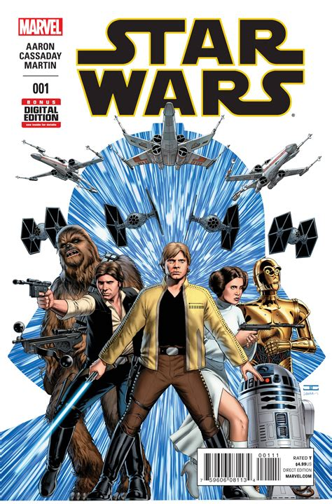 [Advance Review]  Star Wars  #1 Returns The Franchise to ...