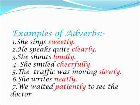 Adverbs   Presentation English Language