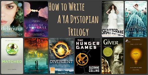 Advice for Writing a YA Dystopian Trilogy  If You Must ...