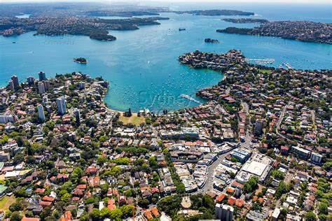 Aerial Stock Image   Double Bay, Sydney Harbour