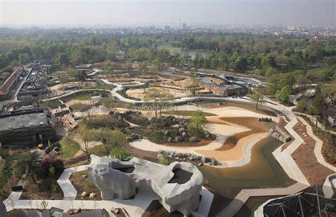 Aerial view, Parc Zoologique de Paris, Paris, France ...