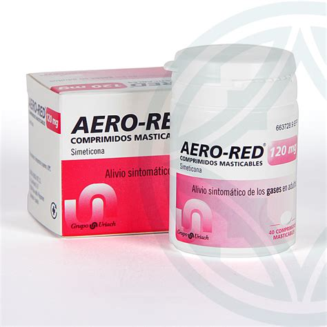 Aero Red 120 mg 40 comprimidos masticables | Farmacia Juan ...