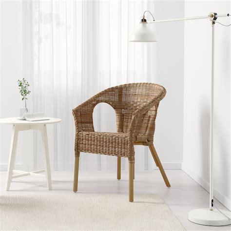 AGEN Silla, ratán, bambú   IKEA