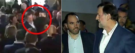 Agresión a Rajoy: un joven le rompe las gafas en un paseo ...