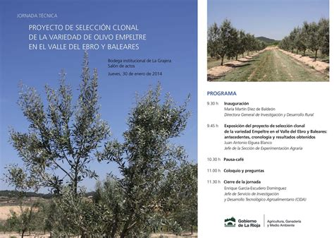 Agricultura celebra la Jornada sobre el Proyecto de ...