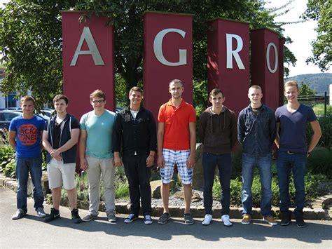 AGRO International | Ausbildungsstart bei AGRO   AGRO ...