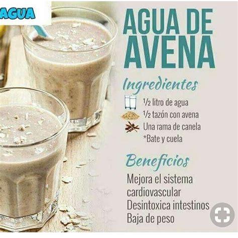 Agua de avena | Agua de avena para adelgazar, Avena para ...