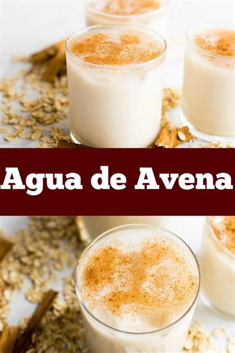 Agua de Avena   Thrift and Spice