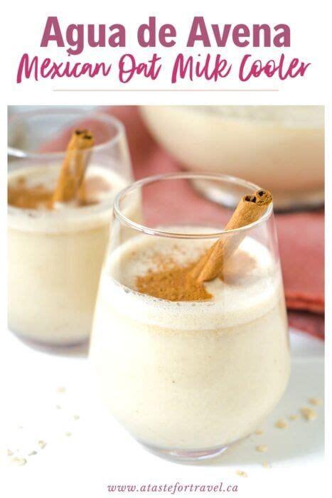 Agua de Avena   Vanilla Oat Milk Cooler | Recipe | Drink ...