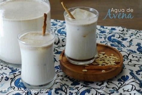 Agua de Avena  With images  | Food, Smoothie recipes for ...
