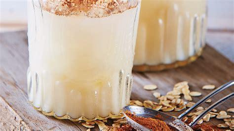 Agua de horchata con avena saludable y muy deliciosa ...