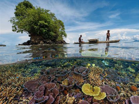 Aguas cristalinas en Papua Nueva Guinea   La Reserva