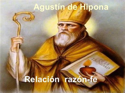 Agustín de Hipona. Relación Razón  Fe