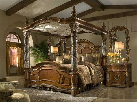 AICO Furniture Villa Valencia Bedroom Set   AIC72000EKCAN55SET