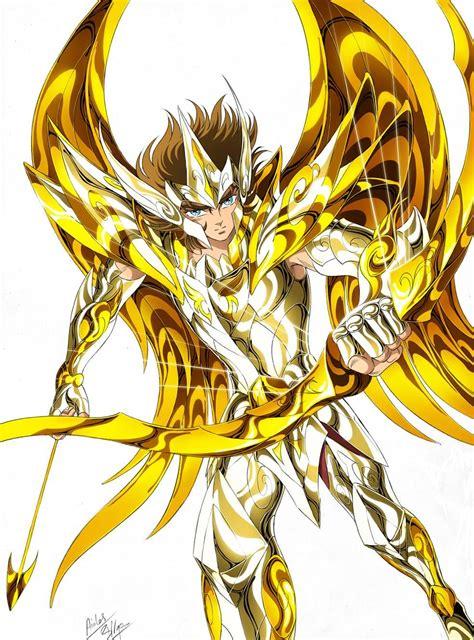 Aioros Sagitario God Cloth Saint Seiya | Cavaleiros do ...