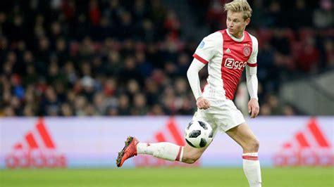 Ajax name their price for Frenkie de Jong as Barça line up ...