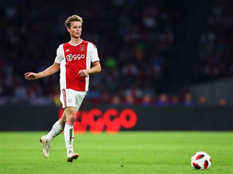Ajax vs Real Madrid: Frenkie de Jong desperate to star ...