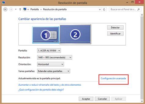 Ajustar la imagen del ordenador al monitor.   Microsoft ...