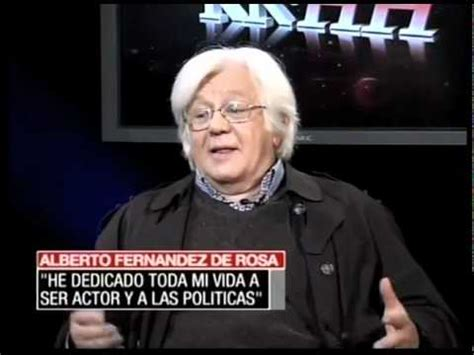 Alberto Fernandez de Rosa: Entrevista   YouTube