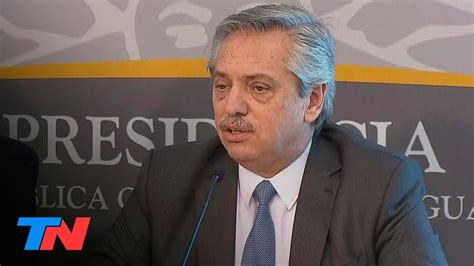 Alberto Fernández en Uruguay: conferencia de prensa ...