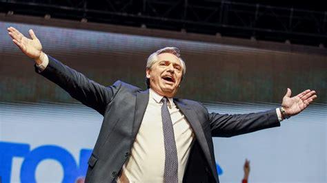 Alberto Fernández logra amplia ventaja en la carrera por ...