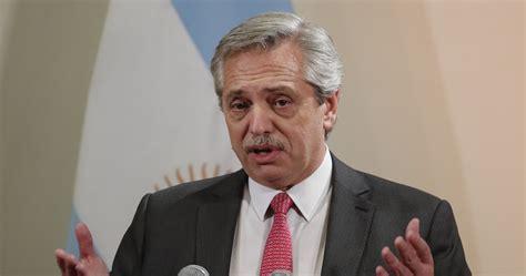 Alberto Fernández, Presidente electo argentino, busca ...