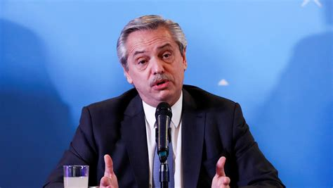 Alberto Fernández reconoce que el riesgo de default es ...