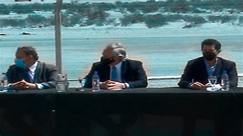 Alberto Fernández recorrió obras y firma convenios en La ...
