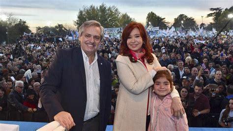 Alberto Fernández y Cristina Kirchner compartieron su ...