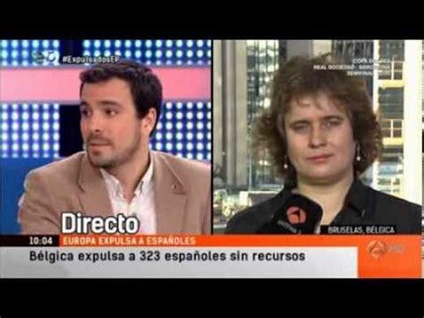 Alberto Garzón participa en el programa  Espejo Público ...