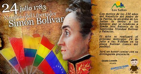 Alcaldía Los Salias: 24 de julio de 1783. Natalicio del ...