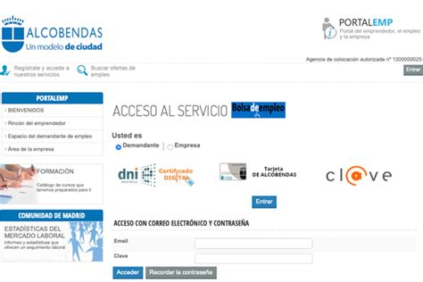 Alcobendas estrena nuevo portal de empleo municipal | SoyDe