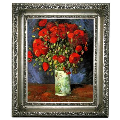 Alcott Hill  Vase with Red Poppies  by Vincent van Gogh ...