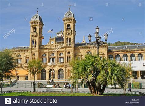 Alderdi Eder Park, City Hall, San Sebastian, Pais Vasco ...