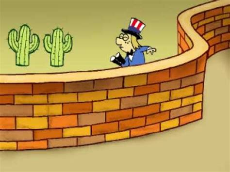 Alecus animado Muro Fronterizo   YouTube