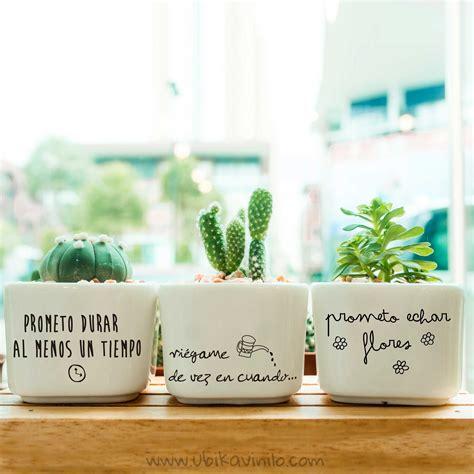 Alegra tus plantas decorando las macetas de una manera muy ...