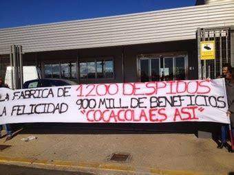 Alegría: Huelga indefinida en la planta madrileña de Coca ...