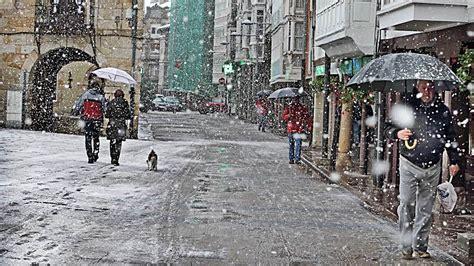 Alerta por nieve, viento, lluvia y olas en 20 provincias ...