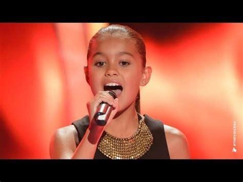 Alexa Sings Girl On Fire   The Voice Kids Australia 2014 ...