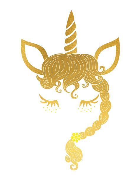 Alfabeto con Unicornio Dorado. | Invitacion de unicornio ...
