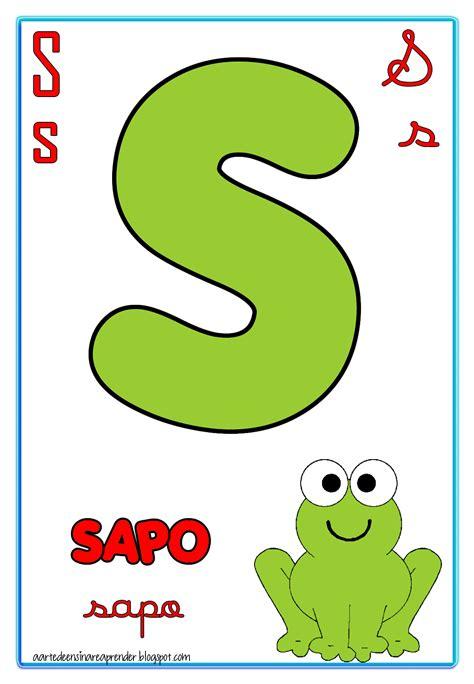 Alfabeto quatro tipos de letras   A Arte de Ensinar e Aprender