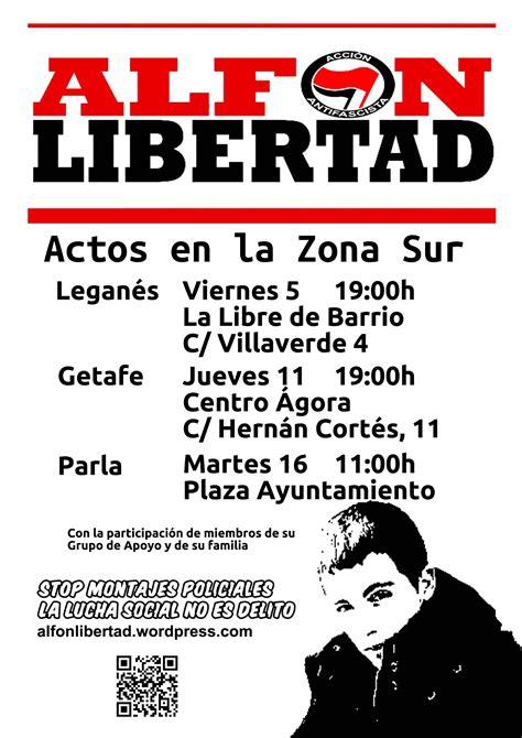 Alfon libertad – CGT Zona Sur