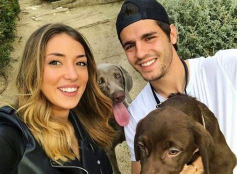Alice Campello:  Me enamoré de Alvaro Morata al instante ...