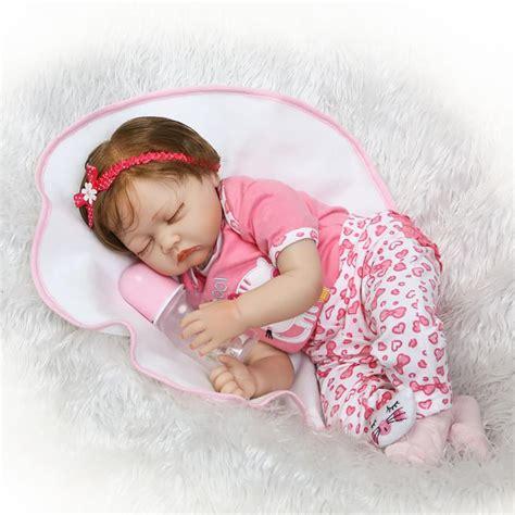 Aliexpress.com : Buy 55cm Silicone Reborn Baby Doll Toy ...