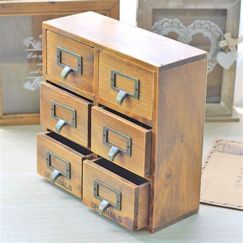 Aliexpress.com : Buy Creative Vintage Wooden Storage Box ...